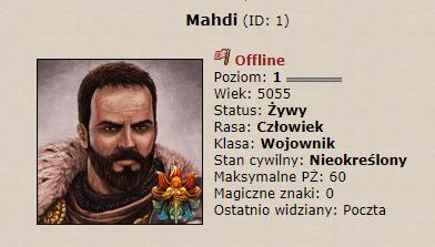 Mahdi - władca Amorion